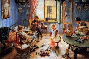 """""""La Cameretta dei Bambini"""" di Von Uhde (1889)"""