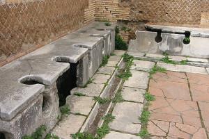 Bagni pubblici ad Ostia