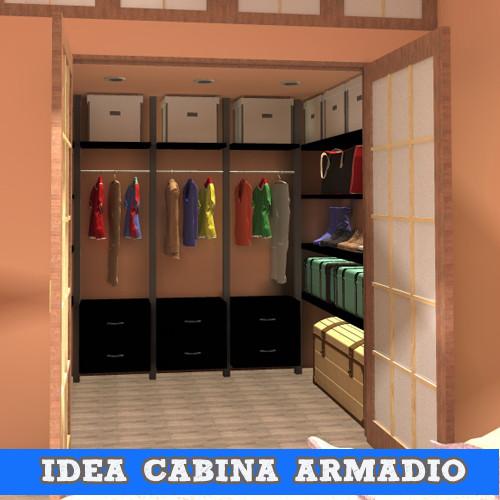 Progetto di una cabina armadio - Progetto cabina armadio ...