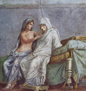 Pittura Parietale nella Villa  Aldobrandini