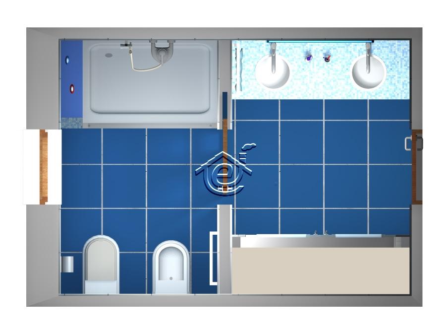 Bagno doppio - Porta scorrevole bagno ...