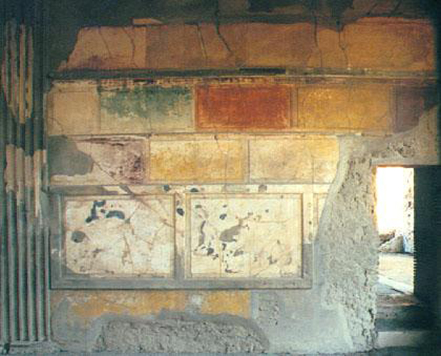 Pittura parietale nella casa pompeiana for Colonne esterne di stile dell artigiano