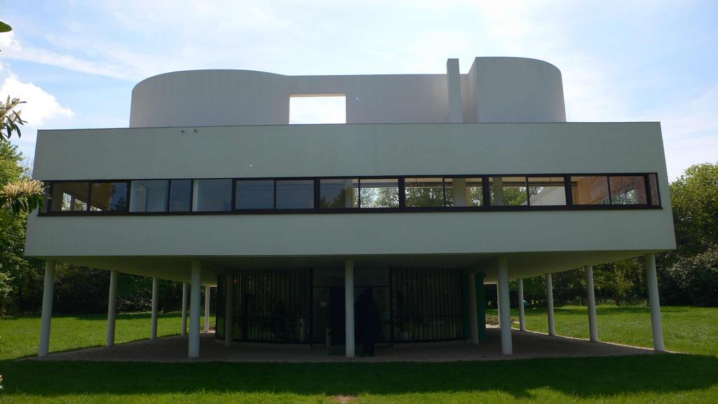 I 5 punti dell 39 architettura moderna di le corbusier - Finestre a nastro ...
