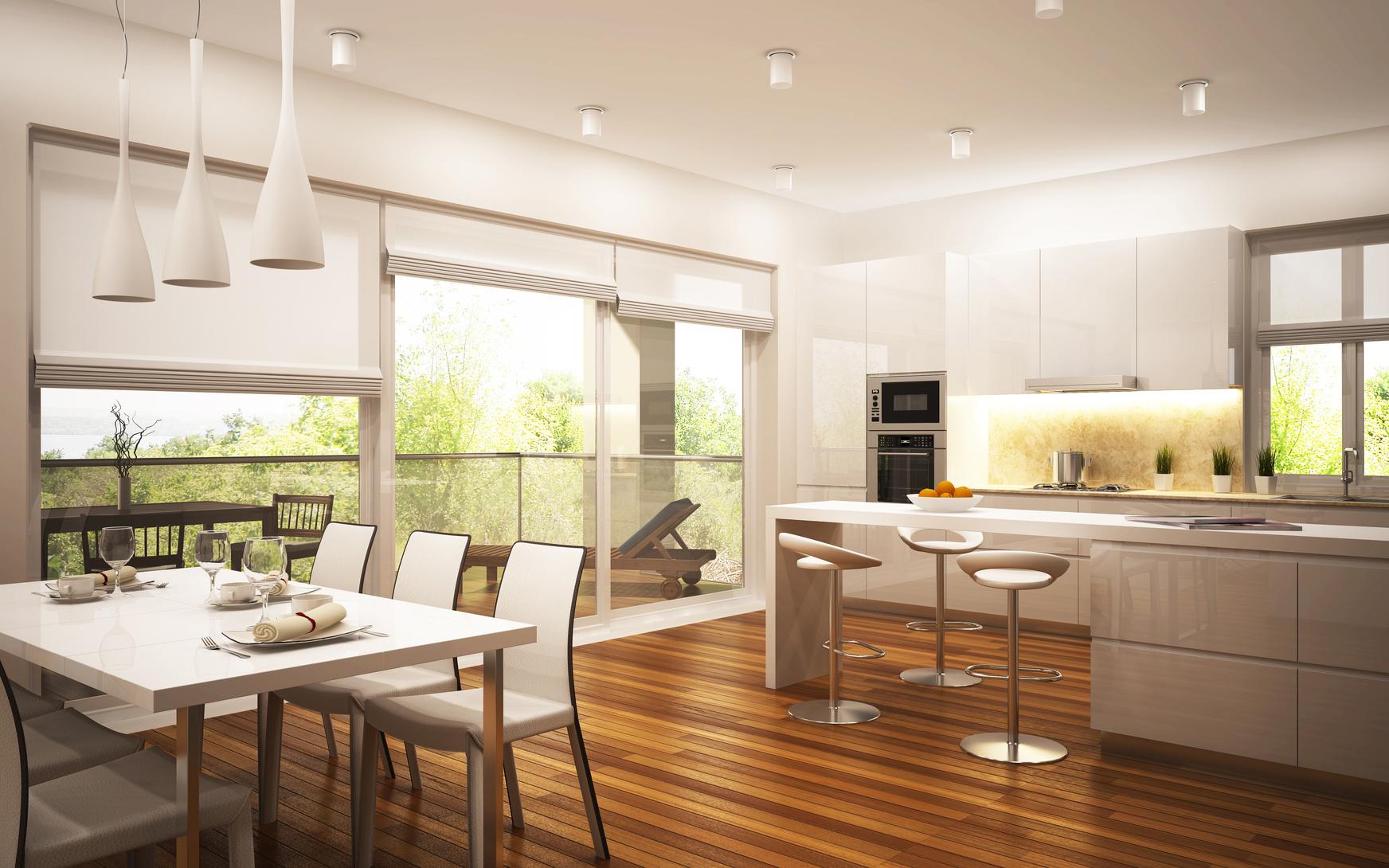Illuminazione in cucina for Caratteristiche di design della casa