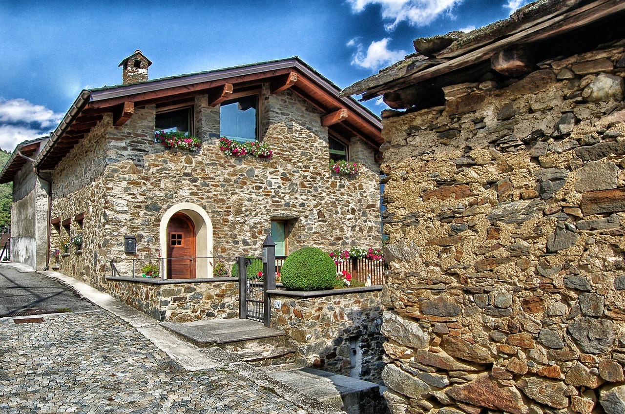 Edifici in muratura portante - Casa in muratura portante ...