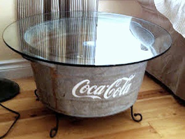 Tavolini Salotto In Materiale Da Riciclo : Tavolini da salotto di riciclo domuseco