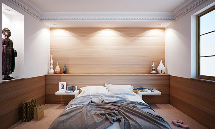 Illuminazione della camera da letto for Illuminazione camera da letto matrimoniale