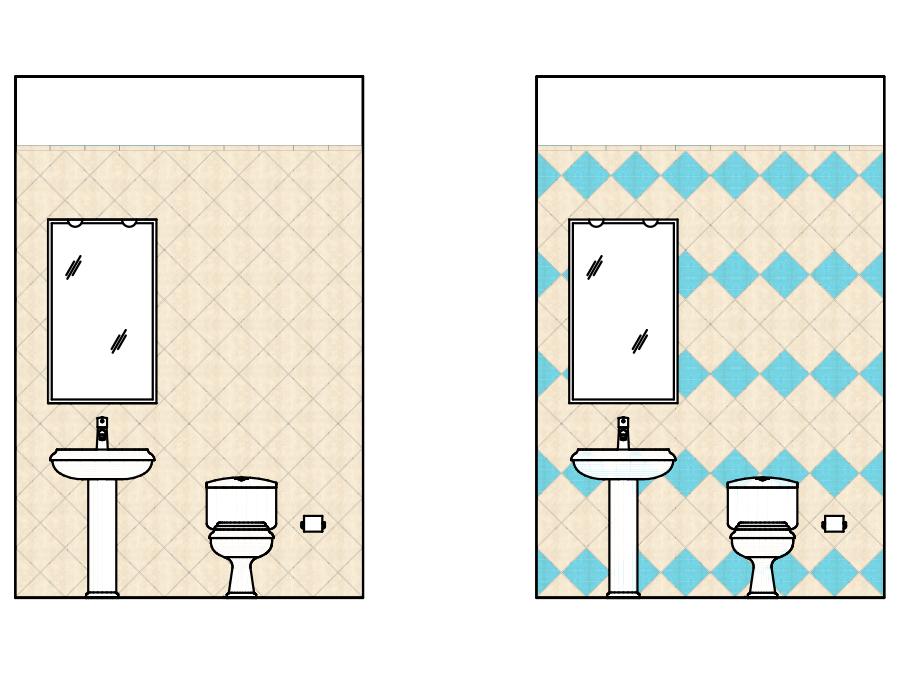Posa piastrelle bagno esempi per ogni ambiente bagno - Stock piastrelle fallimenti ...