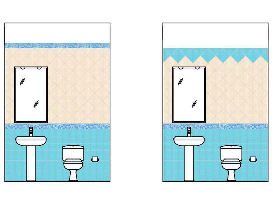 Idee Posa Piastrelle Bagno.Schemi Di Posa Per Piastrelle Quadrate Domuseco It Domuseco It