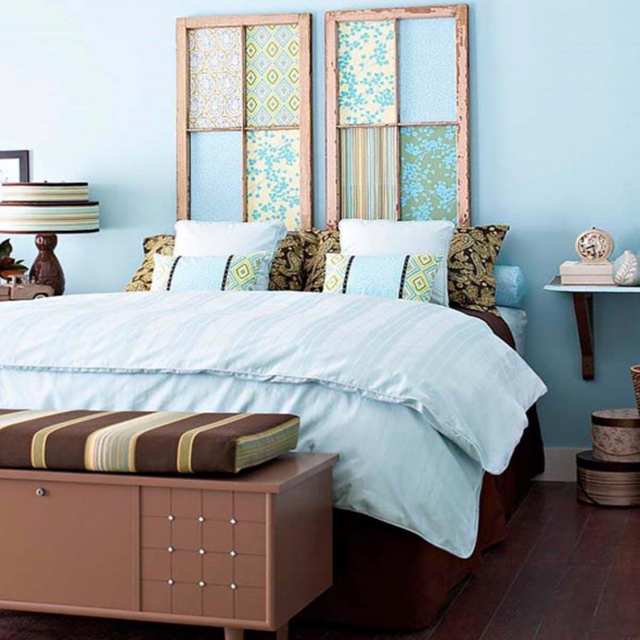 Letto matrimoniale originale idee per il design della casa - Testiera letto originale ...