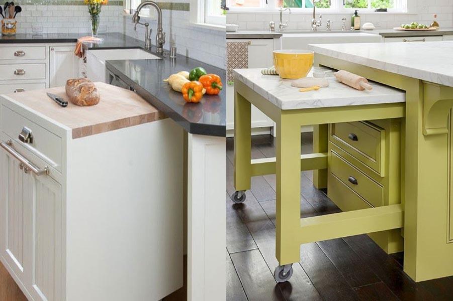 Arredare e progettare la cucina piccola - Idee per arredare una cucina piccola ...