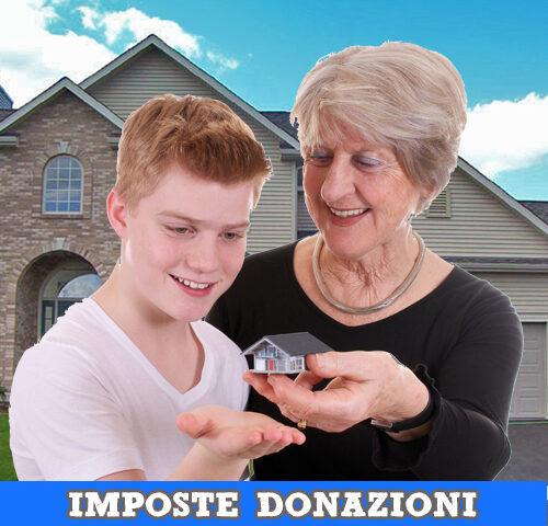 Imposte donazioni ed eredità