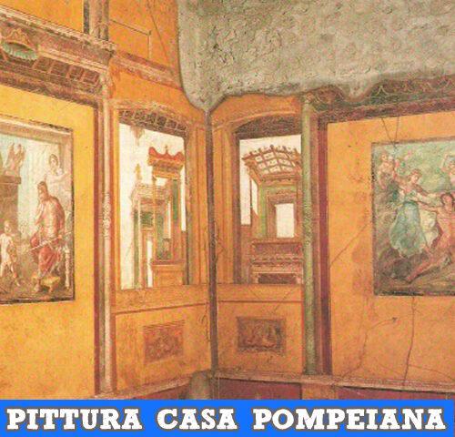 Pittura parietale nella casa pompeiana