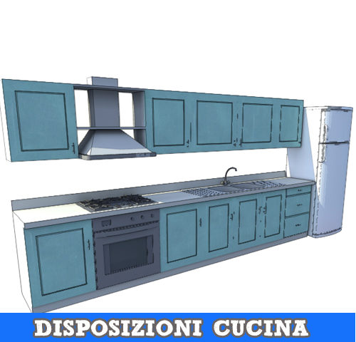 Disposizioni comuni della cucina
