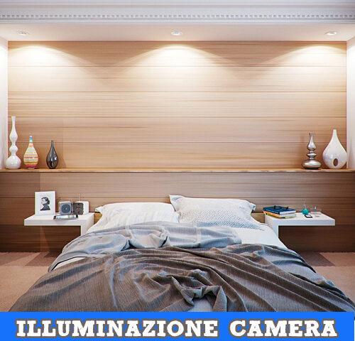 Illuminazione della camera da letto