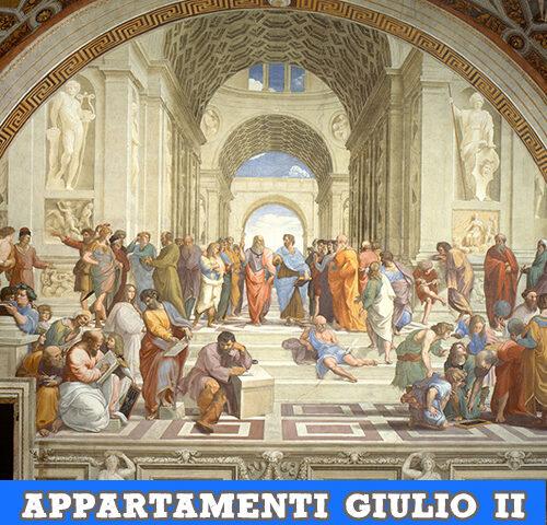 Gli appartamenti di Papa Giulio II