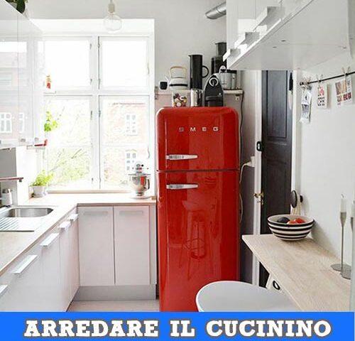 arredare e progettare la cucina piccola